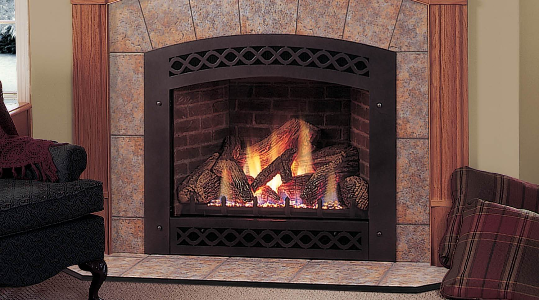 Gas Fireplace Insert - Warming Trends