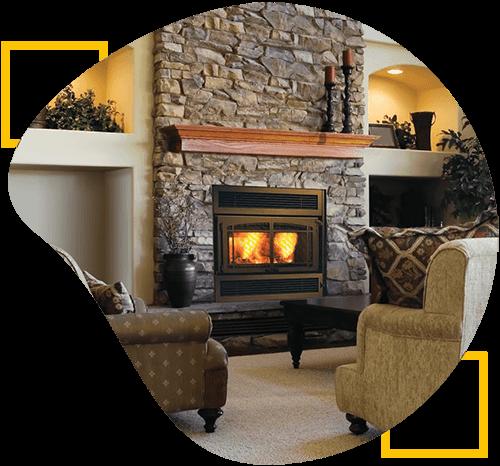 wood fireplace insert santa rosa