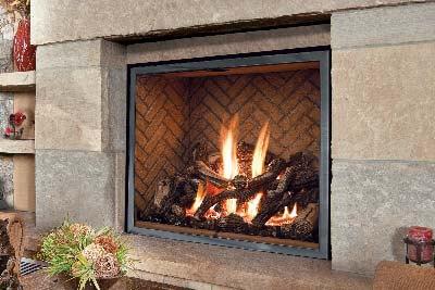 Fireplace menu